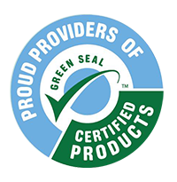 We are a proud provider of Grean Seal certified pruducts with our professional cleaning service
